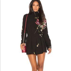 New Free People Gemma MinI Dress Tunic Medium